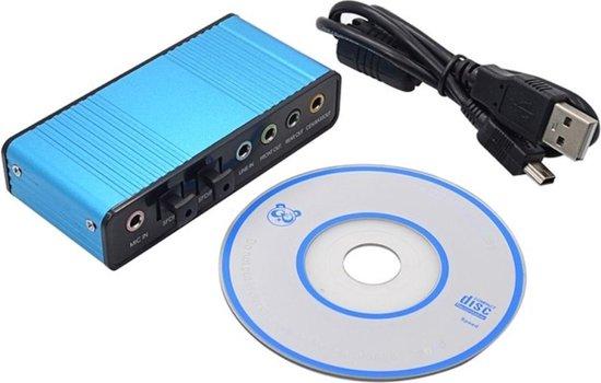 WiseGoods - Externe Geluidskaart 5.1 USB