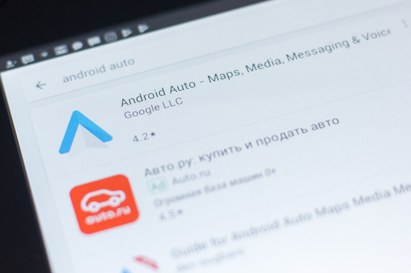 hoe werkt Android Auto